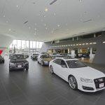 Audi Dealerships Nationwide. Custom Lighting Fixtures by Belfer Lighting