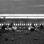 Herbert Hoover Building Washington DC with Belfer Refurbished Lighting Fixtures