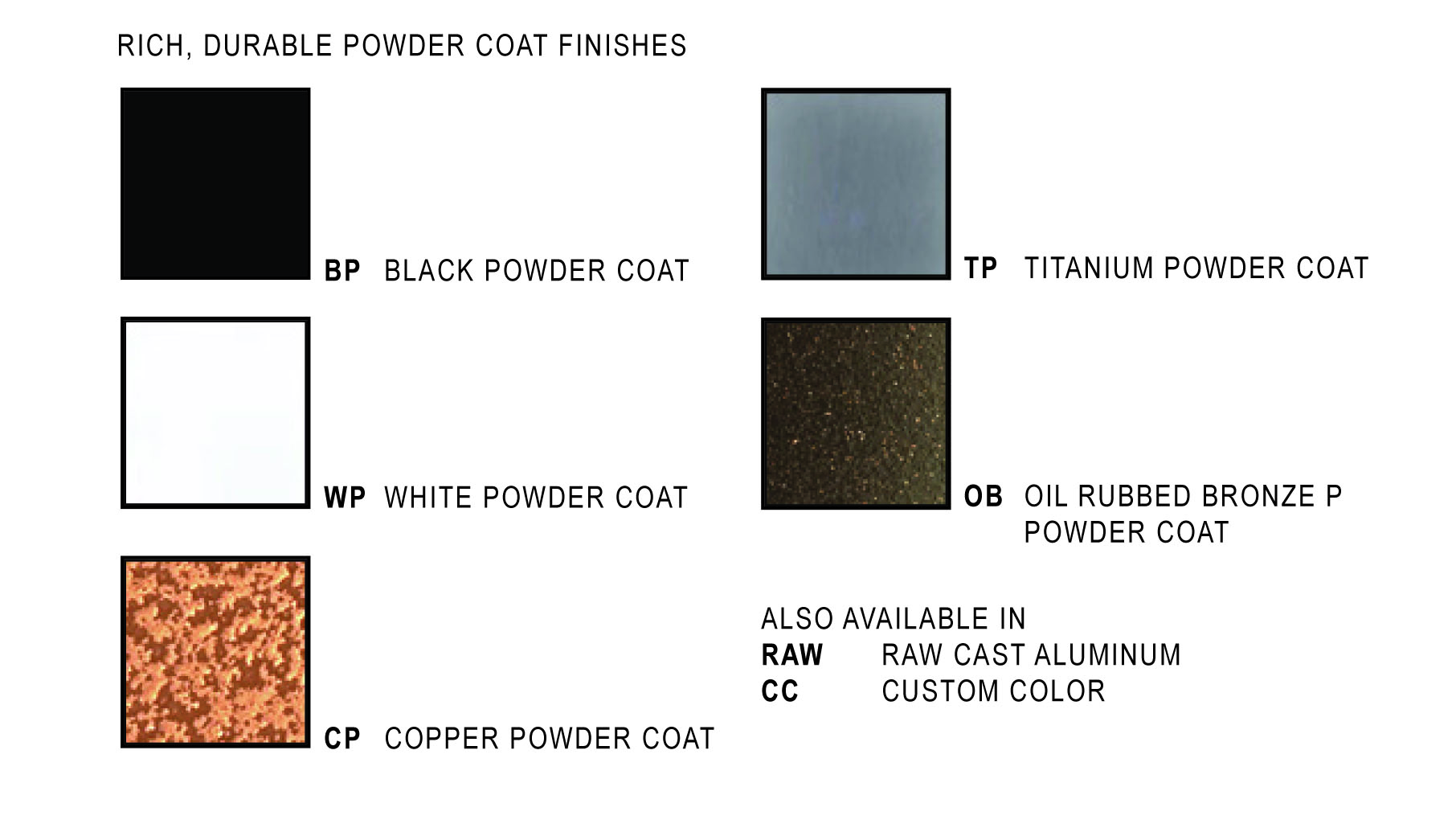 Belfer Lighting Wall Sconces Powder Coat Color Choices